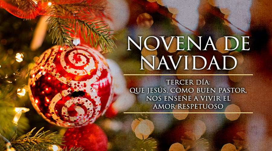 Tercer Día de la Novena de Navidad